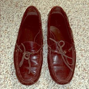 Cole Haan size 8.5 men's leather moccasin drivers